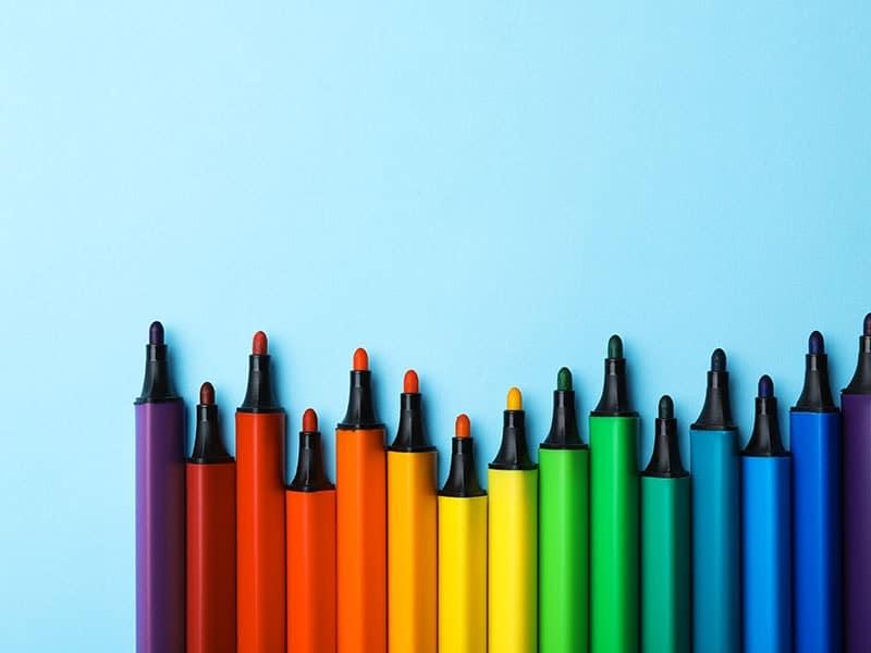 Twin Tip Marker Graphic Sketch Art Markers Artists 1 x Colourless Blender Pen
