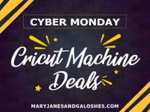 Best Cyber Monday Cricut Machine Deals