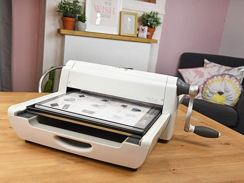 15.24 cm 6 in Sizzix Big Shot Express Electric Die Cutting and Embossing Machine with Extended Accessories Opening,
