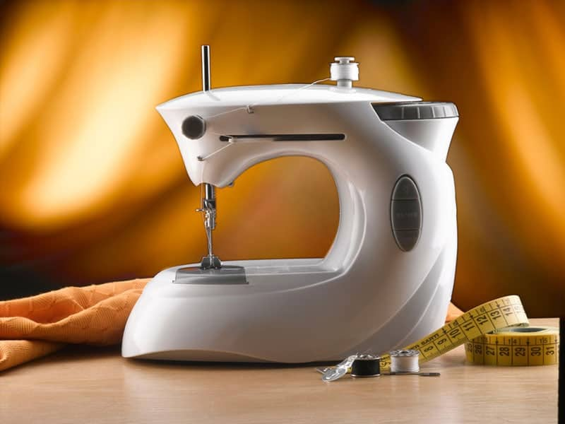 Travel or Working Simple Version Mini Handheld Sewing Machine with Sewing Kits Portable Electric Repairing Mending Sewing Machine for Home DIY