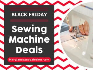 Best Black Friday Sewing Machine Deals