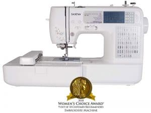 Brother SE400 Computerized Sewing and Embroidery Machine Review