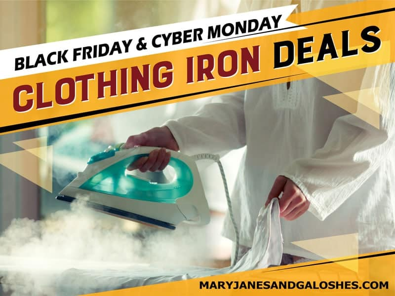 Clothing Steam Iron Black Friday Cyber Monday Deals