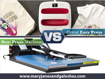 Cricut Easy Press Vs Heat Press