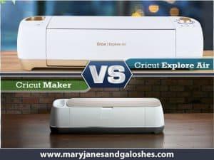 Cricut Explore Air Vs Cricut Maker