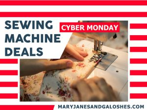 Best Cyber Monday Sewing Machine Deals