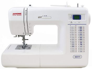 Janome 8077 Computerized Sewing Machine Review