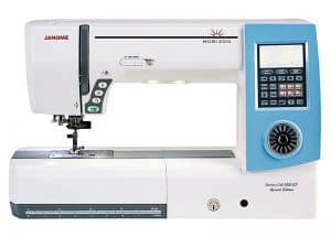 Janome Memory Craft 8900 QCP Sewing Machine Review