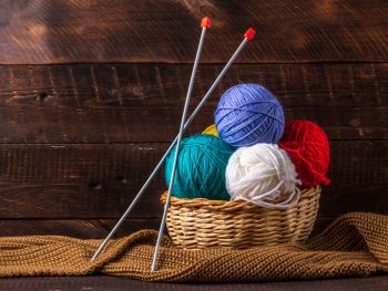 Knitting Needle and Knitting Ball