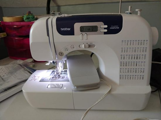My Brother CS6000i Sewing Machine