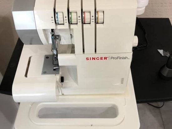 My SINGER Profinish Serger Sewing Machine