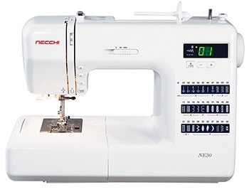 Necchi NE30 Computerized Sewing Machine
