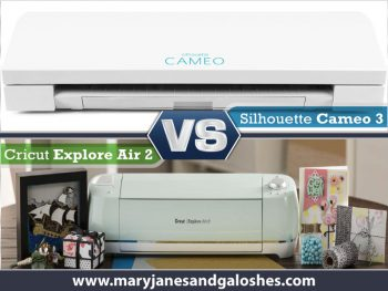 Silhouette Cameo 3 Vs Cricut Explore Air 2