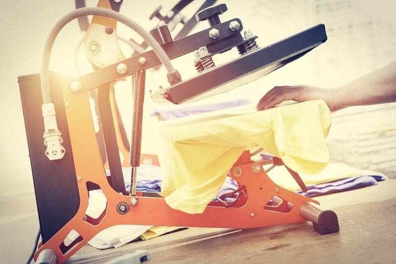 types of heat press machines